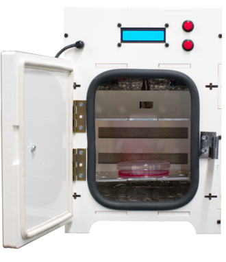 Incuvers Model 1 incubator being used