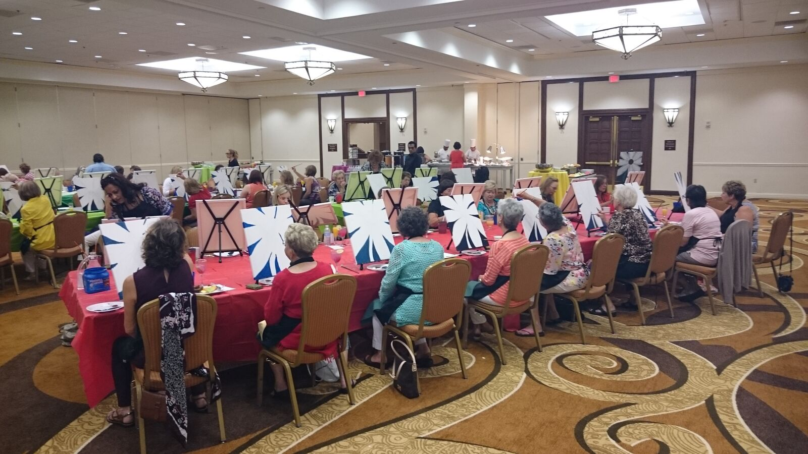 This Corporate Event was held at the Hilton on the River Walk in San Antonio!  #PaintParty in San Antonio