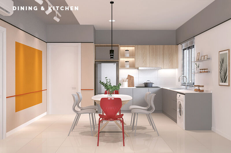 04 Dining Kitchen