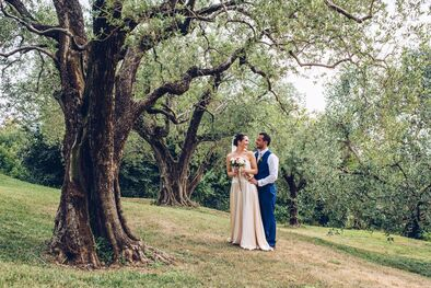 Jo & Fraser, Verona wedding photography, Italy