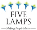 five lamps logo