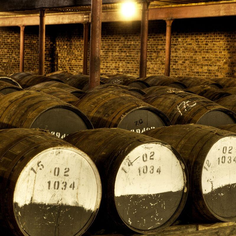 Gebrauchtes Whiskyfass