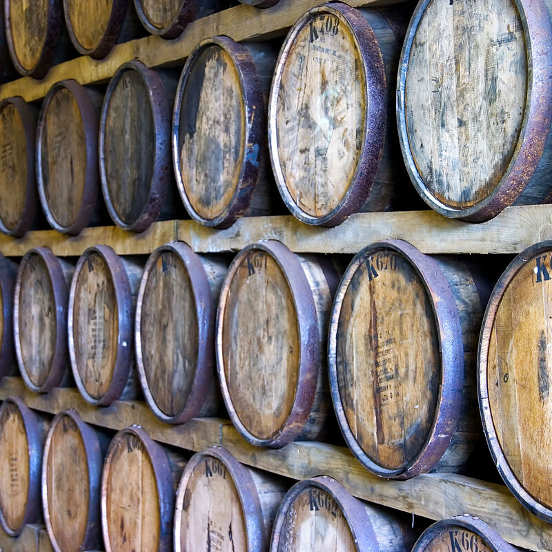Rum Barrels in refill-ready condition