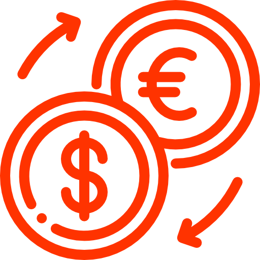 Icon takes you to the Currency Converter tool.