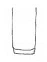 drawing of a tall glass for long cocktails