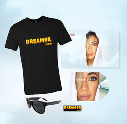Hirie merch bundles available for pre-order now. New album Dreamer available 9.13.19