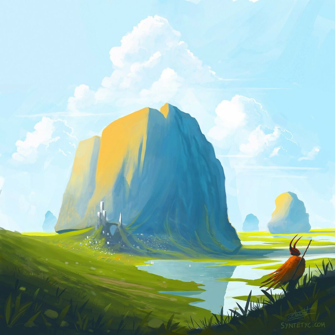 Fantasy illustration. By Roberto Nieto - Syntetyc.com