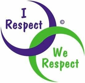 I respect We respect text