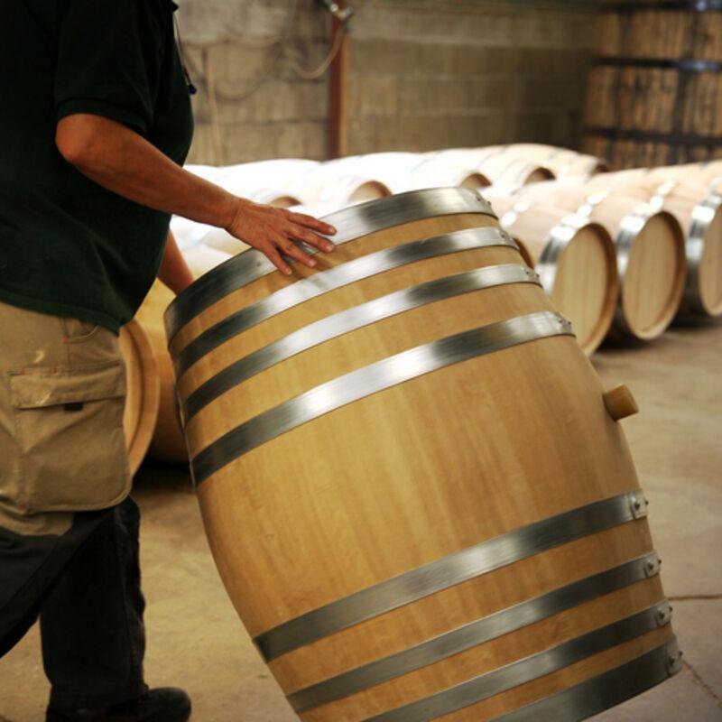Fässer der Tonnellerie de Cognac