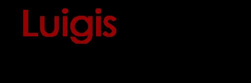 Hortizontal logo Luigis transparent