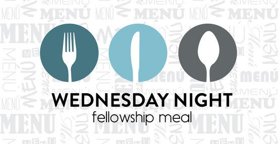 Wednesday Night Fellowship Meal