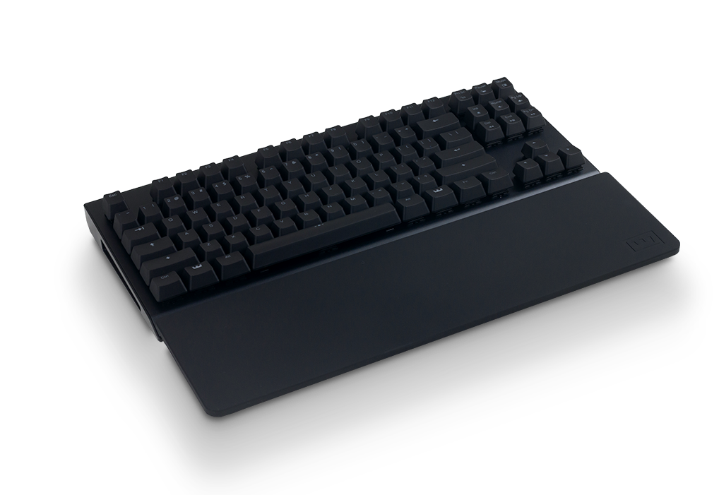wrist rest top view