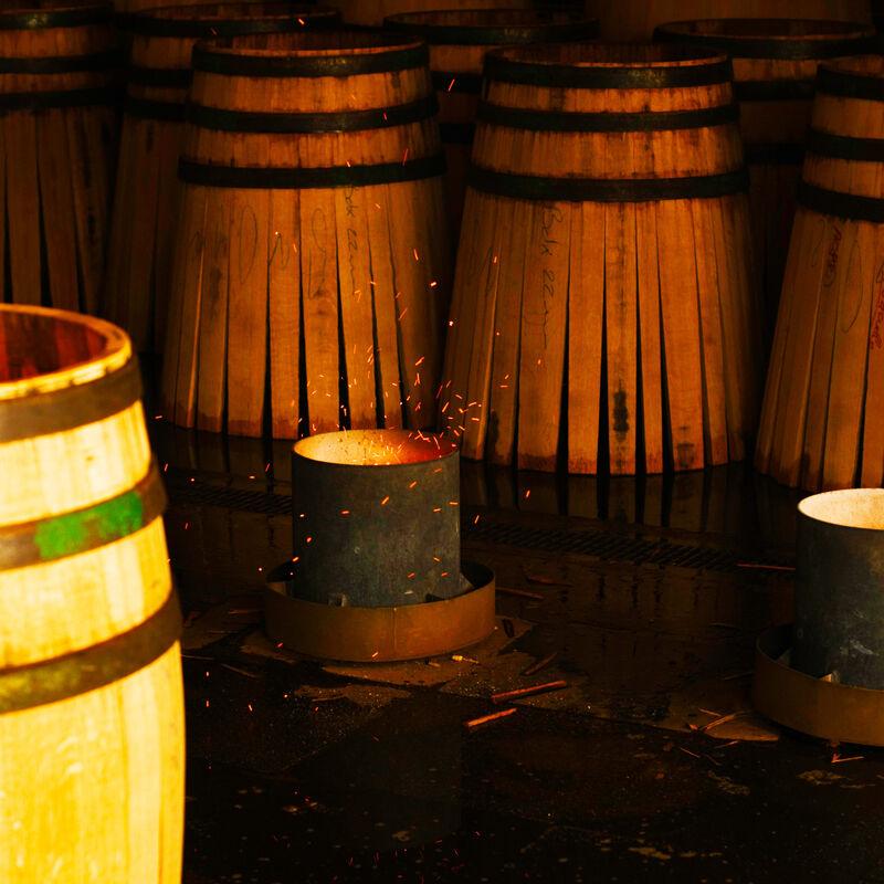 Weinfässer, Barriques und Tonneaux der Tonnellerie Maury & Fils