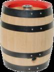 Bierfass innen mit Durolit ausgekleidet