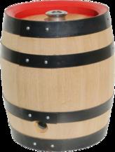 Original Bierfass aus kammergetrocknetem Eichenholz