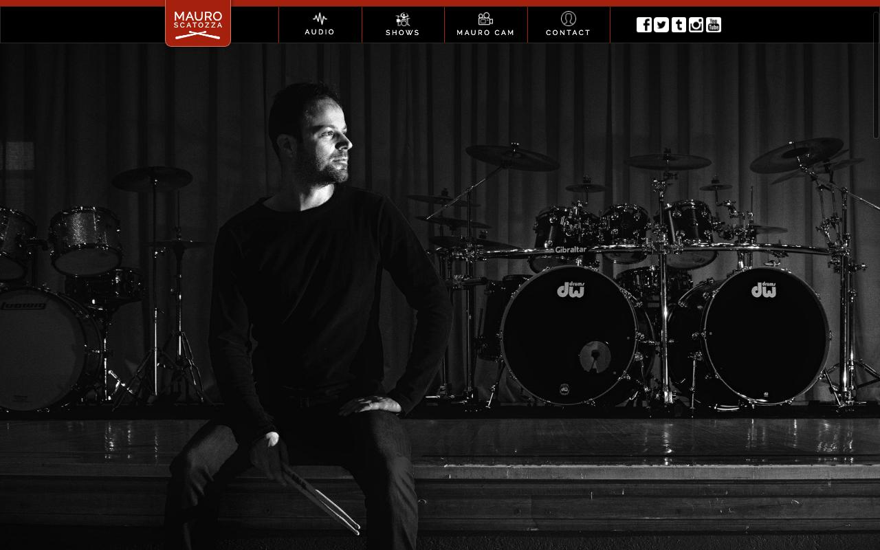 Mauro Scatozza Website - A Vito Creative Project