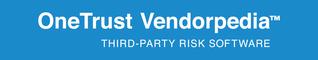 OneTrust Vendorpedia WhiteLogo BlueBackground