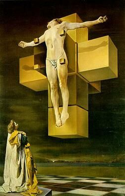Dali Crucifixion hypercube