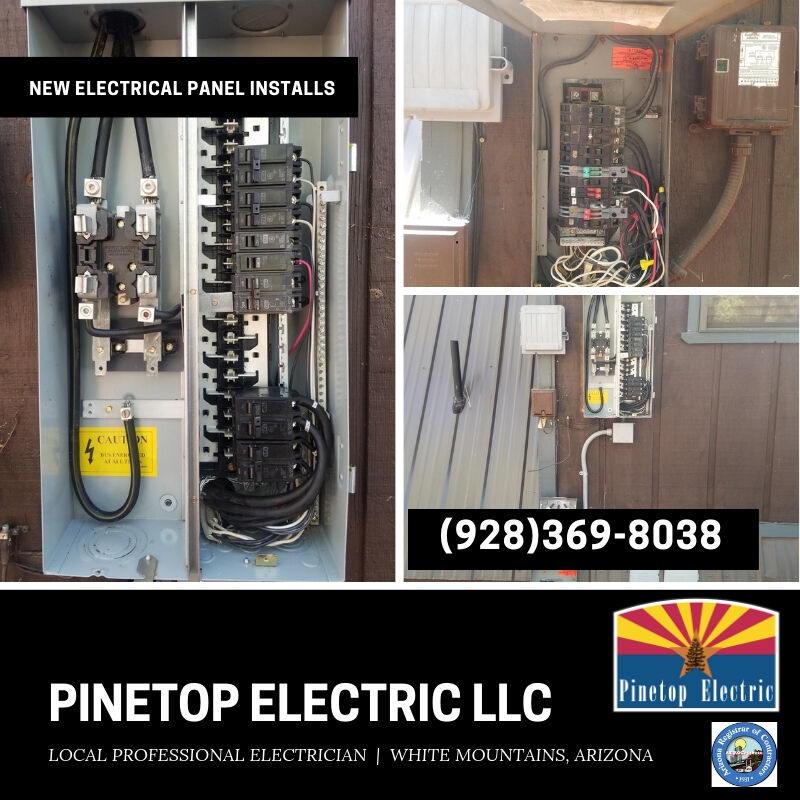 712 E White‍‍‍ Mountain Blvd #1371 Pinetop-Lakeside, AZ 85935 ‍‍‍‍‍‍‍‍‍https://www.‍‍‍pinetopelectric.com/ PinetopElectric@Gmail.com
