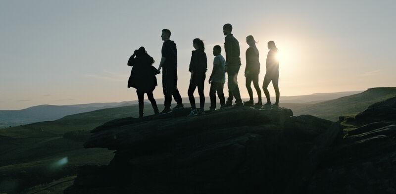 Arri Alexa XT, 25mm, sunset over Stanage