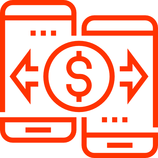 Icon that takes you to the Transfer Currency Abroad tool