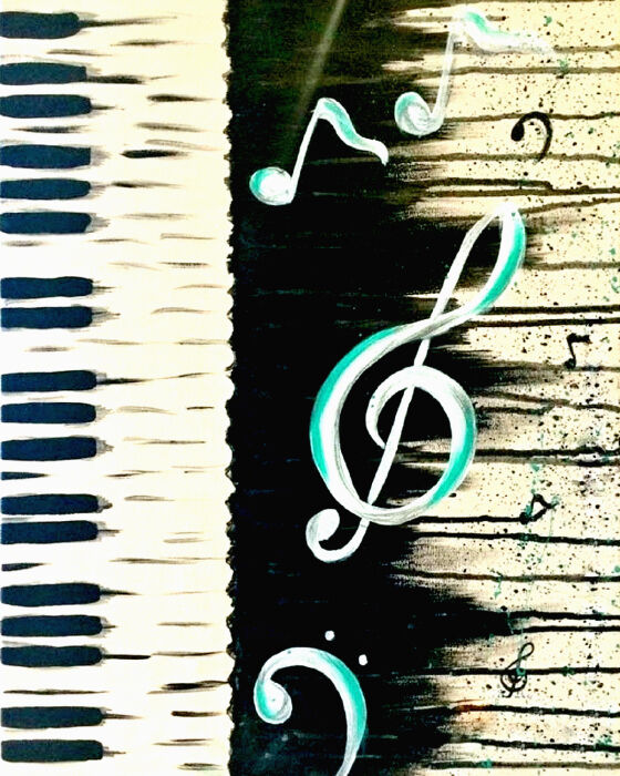 Piano, Music Notes, Instruments, Piano Key