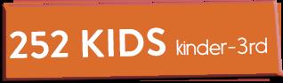 252 Kids - Kinder 3rd