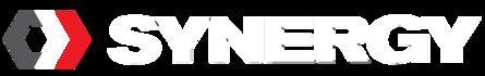 Synergy logo whiteText
