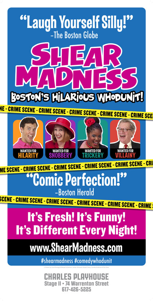 Shear Madness Boston's Hilarious Whodunit is Fresh, Funny and Different Every Night