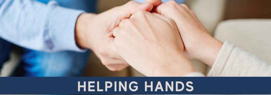 Helping Hands web banner