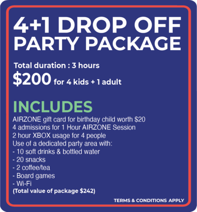AIRZONE - Drop Off Pary Package