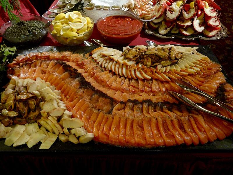 Seafood platter Sardi's