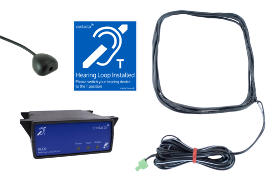 IL-K200 Under counter hearing loop kit