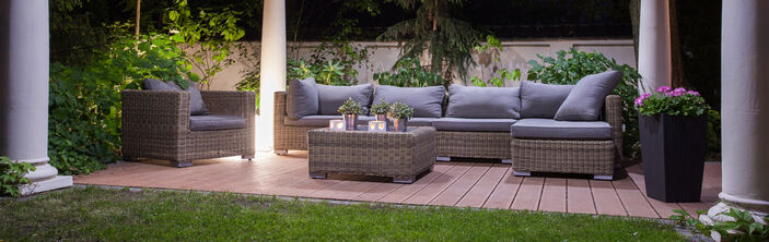 Outdoors Seating Design for Gardens and Landscaping