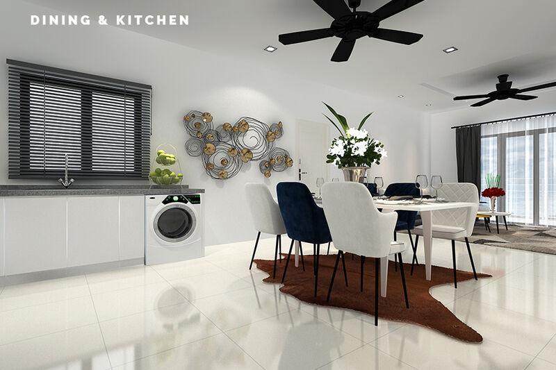 03 Dining Kitchen