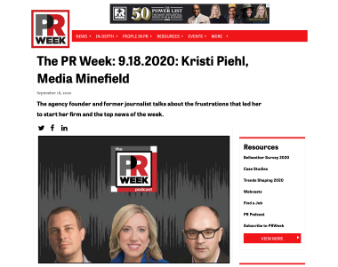PR Week Podcast