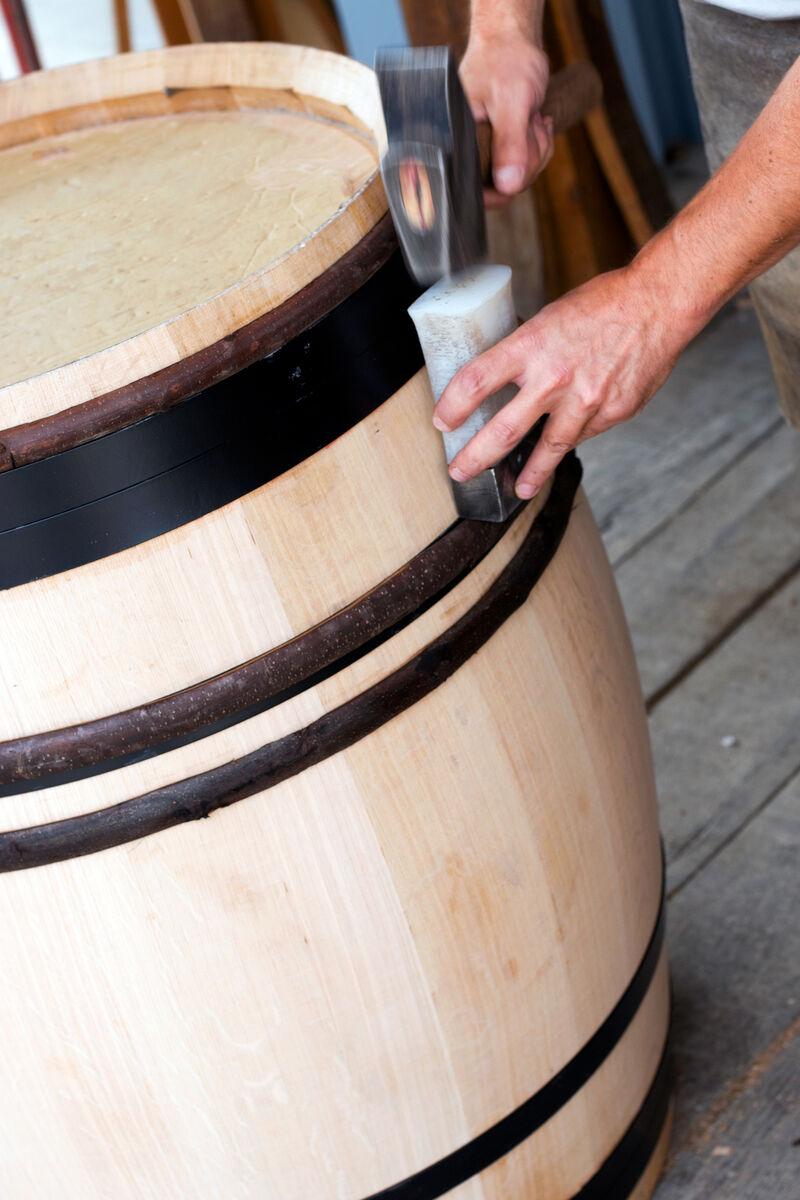 Barrel production at cooperage VINCENT DARNAJOU