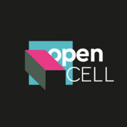 logo of community biology lab called open cell