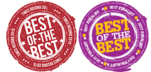 Fort Smith Convention Center, Best of the Best Award Logo.