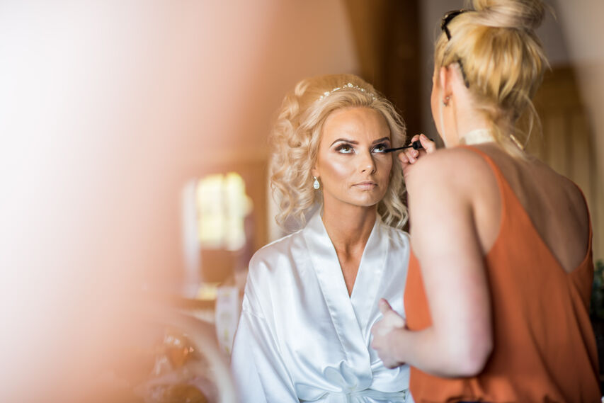 Jenna makeup at Mulberry house, Oldwalls Gower