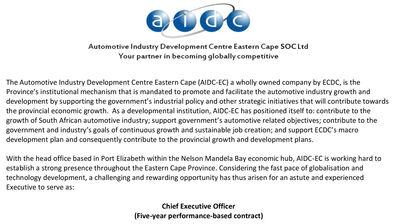 CEO advert 1
