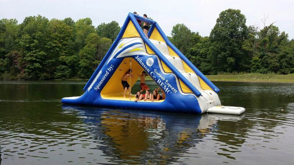 float with kiddos