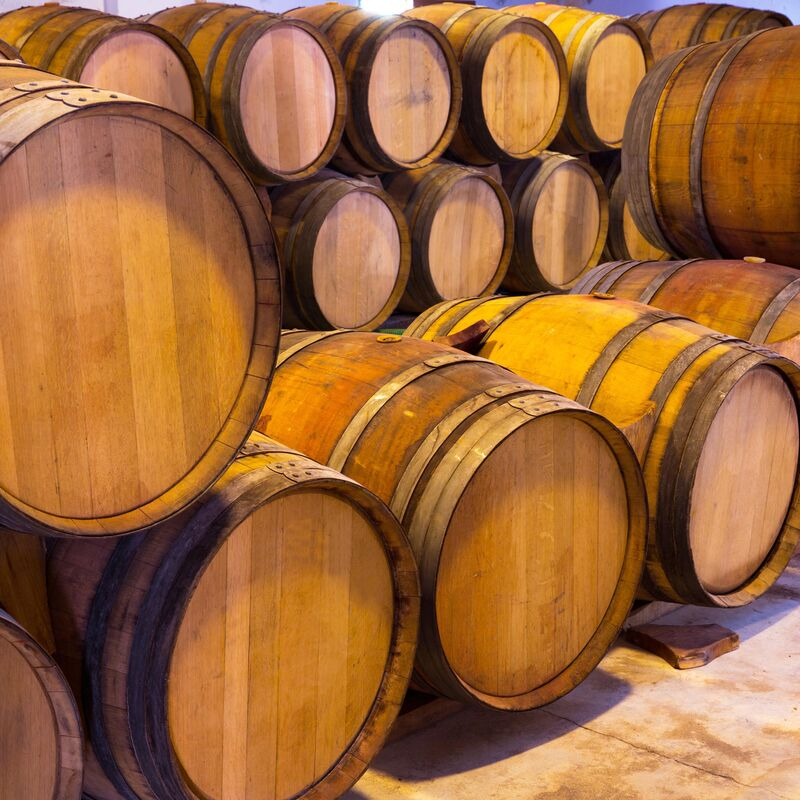 Moscatel Barrel ready to refill