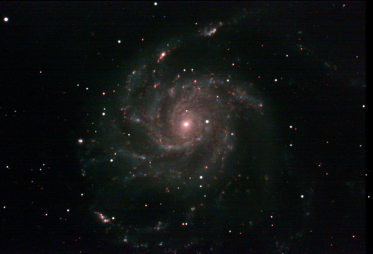 Messier 101 Live Stack