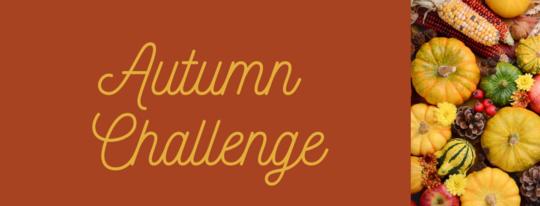 Autumn Challenge Beanstack header