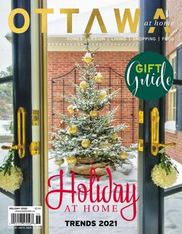 Cover of Ottawa at Home Magazine Holiday  2020