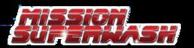 The logo of Mission Super Wash Car Wash