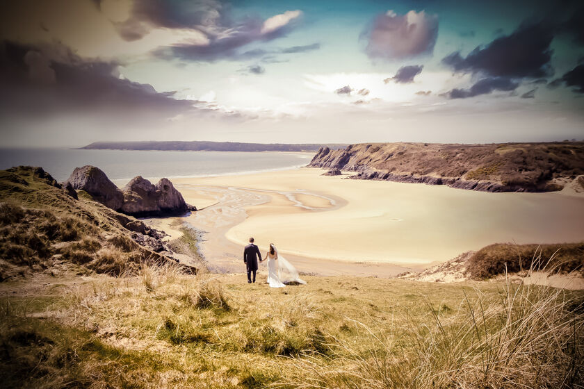 Oldwalls wedding photography by Karl Baker