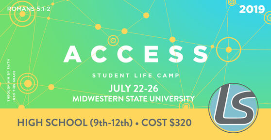 Student Life Camp July 22-26 Midwestern State University