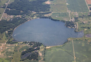 School Section Lake, Stearns County , MN